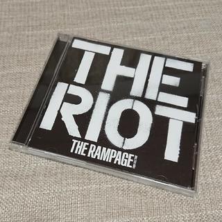 ザランページ(THE RAMPAGE)の【minmin様専用】THE RAMPAGE THE RIOT  CDのみ(ポップス/ロック(邦楽))