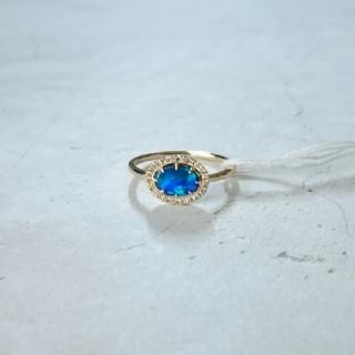 アガット(agete)のagete オパール ダイヤモンド リング 11号(リング(指輪))