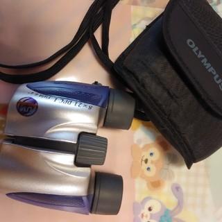 オリンパス(OLYMPUS)の美品 使用2回 オリンパス 双眼鏡 8×21 (その他)