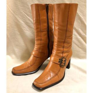 サヴァサヴァ(cavacava)のサヴァサヴァ cavacava 本革製 ブーツ キャメル 本革 本皮 ナチュラル(ブーツ)