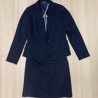 スーツカンパニー(THE SUIT COMPANY)の美品ネイビースーツ上下セット(スーツ)