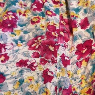 花柄 ショートパンツ キュロット(キュロット)