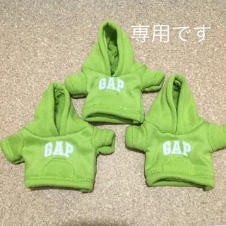 ギャップ(GAP)のGAP ガチャ パーカー 黄緑(キャラクターグッズ)