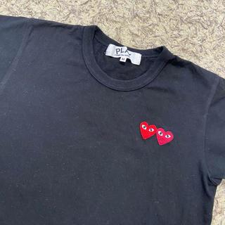 コムデギャルソン(COMME des GARCONS)のコム・デ・ギャルソン 黒Tシャツ(シャツ/ブラウス(長袖/七分))