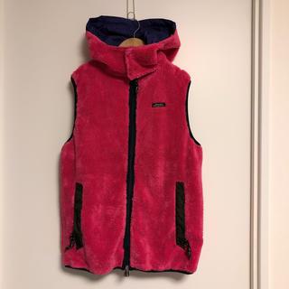 デニムダンガリー(DENIM DUNGAREE)の美品 デニムアンドダンガリー  ボアベスト 150(ジャケット/上着)