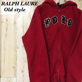 ラルフローレン(Ralph Lauren)の【激レア】ポロラルフローレン☆キッズサイズ レッド パーカー(パーカー)