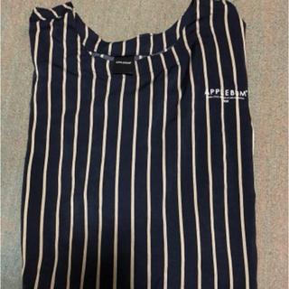 アップルバム(APPLEBUM)のアップルバム ストライプシャツ(Tシャツ/カットソー(七分/長袖))