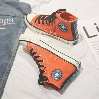 レディース靴オレンジ色(その他)