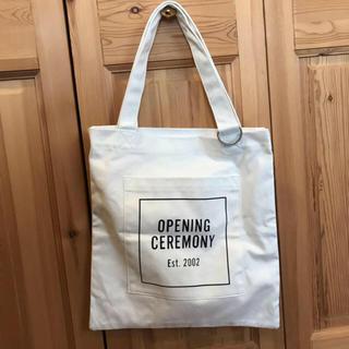 OPENING CEREMONY - 新品未使用 オープニングセレモニー トートバッグ