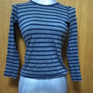 ジーユー(GU)のGUのボーダーロンT。(Tシャツ(長袖/七分))