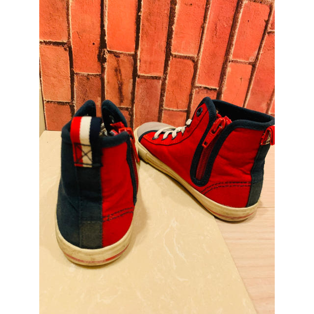 ampersand(アンパサンド)のスニーカー 17センチ ampersand おしゃれ 男女 アンパサンド キッズ/ベビー/マタニティのキッズ靴/シューズ (15cm~)(スニーカー)の商品写真