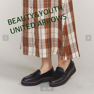 ビューティアンドユースユナイテッドアローズ(BEAUTY&YOUTH UNITED ARROWS)のB&Y コインローファー(ローファー/革靴)