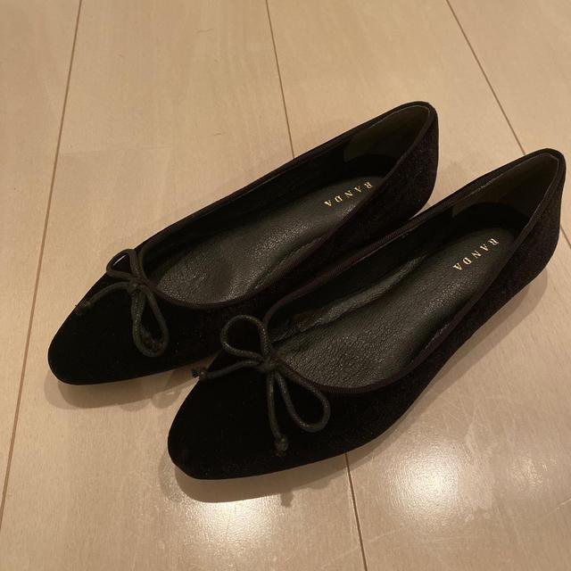 RANDA(ランダ)のランダペタンコバレエシューズ レディースの靴/シューズ(バレエシューズ)の商品写真