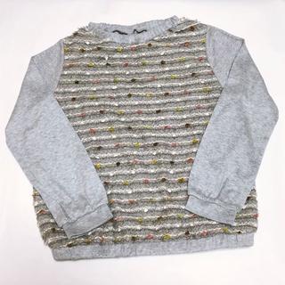 センスオブワンダー(sense of wonder)のsense of wonder(センスオブワンダー) ニット 130センチ(Tシャツ/カットソー)