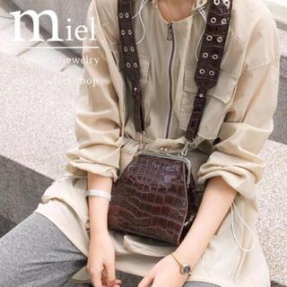 エディットフォールル(EDIT.FOR LULU)のgamaguchi shoulder bag/がま口 ショルダーバック(ショルダーバッグ)