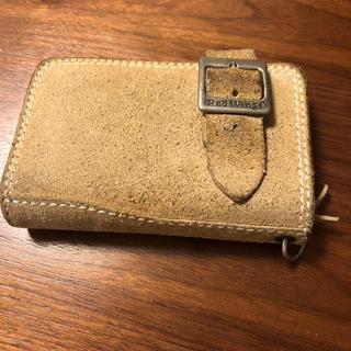 レッドウィング(REDWING)のレッドウィング スエード 折りたたみ財布  中古(折り財布)