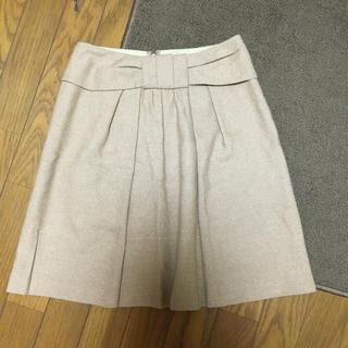 ナチュラルビューティーベーシック(NATURAL BEAUTY BASIC)のNATURAL BEAUTY BACIC ラメスカートxs(ひざ丈スカート)