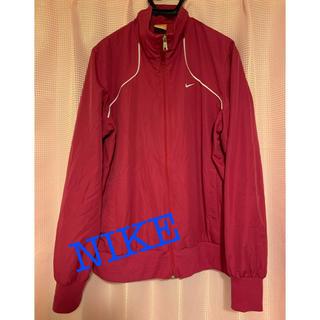 ナイキ(NIKE)のNIKE ナイロンジャケット ピンク スイングトップ(ナイロンジャケット)