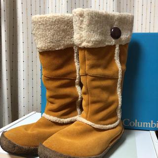 コロンビア(Columbia)のコロンビア ムートンブーツ 24cm(ブーツ)