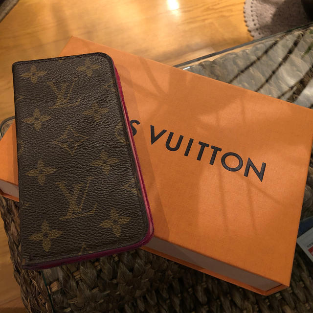 LOUIS VUITTON - LOUIS VUITTON★iPhone x ケース★正規品の通販