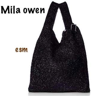 ミラオーウェン(Mila Owen)のMila owen☆ミラオーウェン☆ラメニットバッグ(トートバッグ)