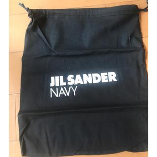 ジルサンダー(Jil Sander)のJIL SANDER NAVY ジルサンダーネイビー バニティ ポーチ バッグ(ショップ袋)