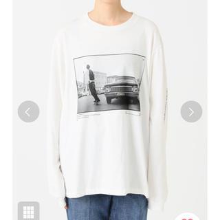 プラージュ(Plage)のJANE SMITH CRUSING DOW ロングスリーブTシャツ(Tシャツ/カットソー(七分/長袖))