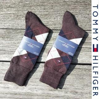 トミーヒルフィガー(TOMMY HILFIGER)の欧米限定品 新品未使用 定価$19.0 TOMMY HILFIGER メンズ靴下(ソックス)