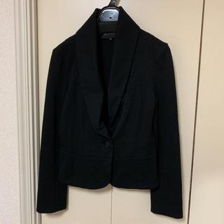 ミッシュマッシュ(MISCH MASCH)のミッシュマッシュ♡大きめえり♡ジャケット黒(テーラードジャケット)