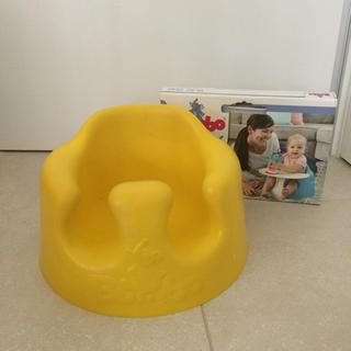 バンボ(Bumbo)の美品!送料込 BUMBOバンボ 黄色 ベルトテーブル付き(その他)