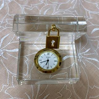 ワコウドウ(和光堂)のWAKO クリスタル置き時計(置時計)
