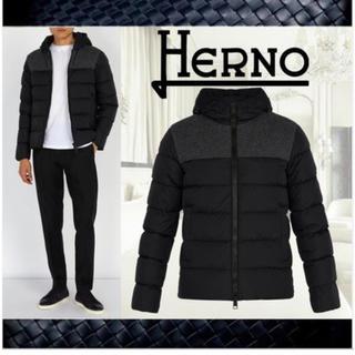 ヘルノ(HERNO)の【美品】HERNO ヘルノ メンズ ダウン コート(ダウンジャケット)