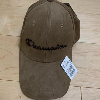 チャンピオン(Champion)のチャンピオン キャップ 帽子 新品未使用タグ付 茶淡 ブラウン(キャップ)