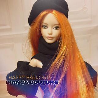バービー(Barbie)の barbie人形.バービーLOOK.ヘッドのみカスタム(人形)