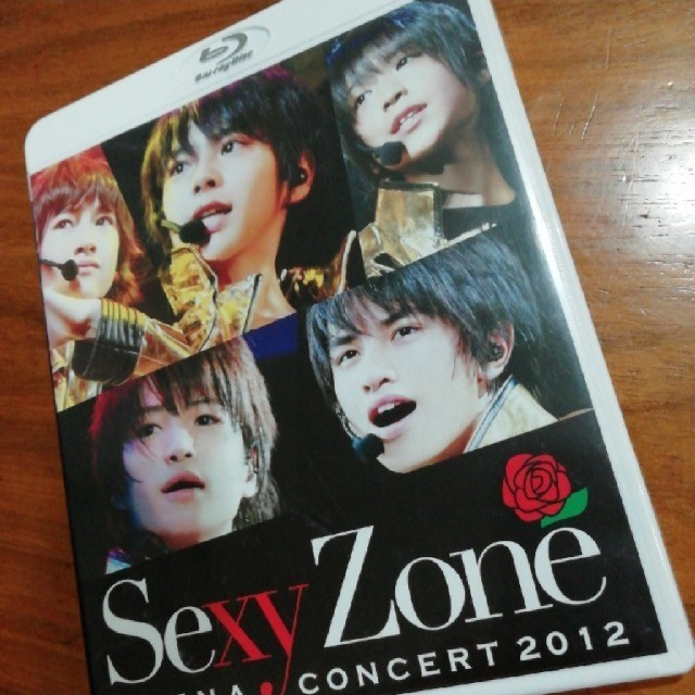 Sexy Zone(セクシー ゾーン)の[Sexy Zone]2012ブルーレイ エンタメ/ホビーのDVD/ブルーレイ(アイドル)の商品写真