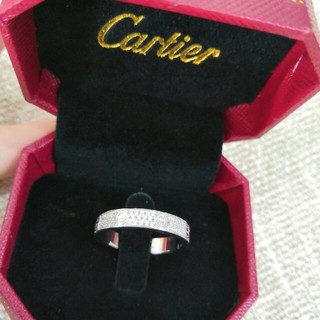 カルティエ(Cartier)のシルバー✿素敵 カルティエ リング(指輪) 本物 レディース(リング(指輪))