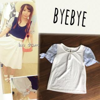 ByeBye - ByeBye♡袖リボントップス