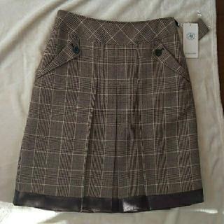 ジェイプレスレディス(J.PRESS LADIES)のオンワード J.PRESSタックスカート(ひざ丈スカート)