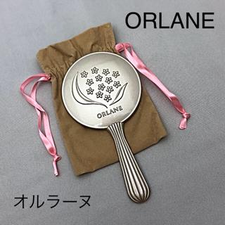 【新品】オルラーヌ 手鏡 シルバー 桜 お花 非売品 ノベルティ