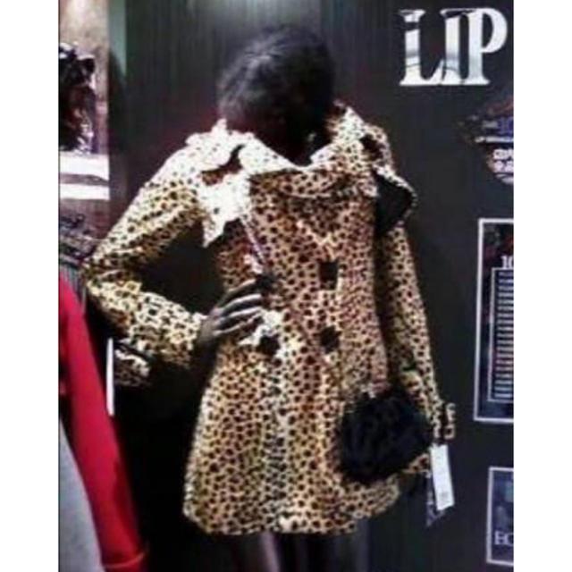 LIP SERVICE(リップサービス)のSALE✨リップサービス ダルメシアン柄 ヒョウ柄 コート♡ レディースのジャケット/アウター(その他)の商品写真