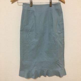 ケイタマルヤマ(KEITA MARUYAMA TOKYO PARIS)のKEITA MARUYAMA  デニムスカート(ひざ丈スカート)