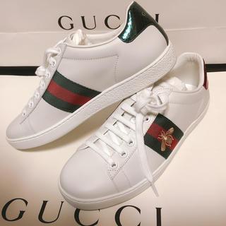 グッチ(Gucci)のGUCCI スニーカー 【エース】※値下げ交渉可(スニーカー)