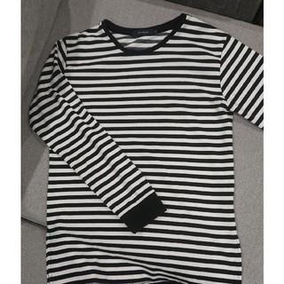 レイジブルー(RAGEBLUE)のRAGEBLUE ボーダーロングTシャツ(Tシャツ/カットソー(七分/長袖))