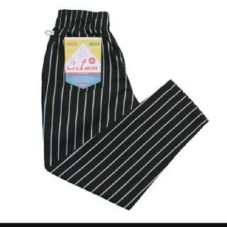 シップス(SHIPS)のCookman Chef pants  ストライプ Lサイズ クックマン(ワークパンツ/カーゴパンツ)