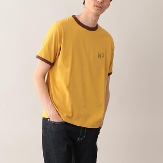 マッキントッシュフィロソフィー(MACKINTOSH PHILOSOPHY)のMACKINTOSH PHILOSOPHY MPロゴリンガーTシャツ イエロー(Tシャツ/カットソー(半袖/袖なし))