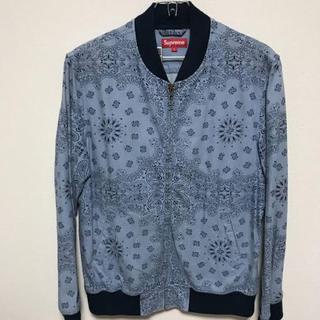 シュプリーム(Supreme)のsupreme denim campus jacket(Gジャン/デニムジャケット)