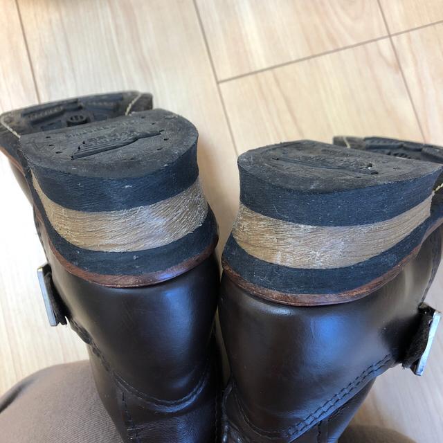 REDWING(レッドウィング)のREDWING エンジニアブーツ レディース 24cm レディースの靴/シューズ(ブーツ)の商品写真