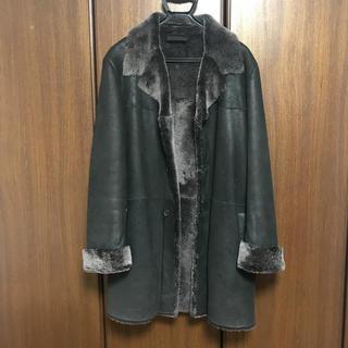 プラダ(PRADA)のPRADAのメンズ 皮のコート(チェスターコート)