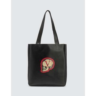 アンダーカバー(UNDERCOVER)のValentino x Undercover スカル レザー トートバッグ(トートバッグ)