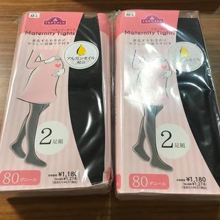 イオン(AEON)の新品未使用 マタニティタイツ 4足セット(マタニティタイツ/レギンス)